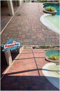 pool area cleaning in Tampa Bay, FL